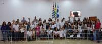Câmara Mirim da escola E.E. Profª Angélica de Oliveira realizada no dia 24/11