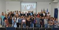Entrega de medalha a Horacio Fernandez e Gustavo Fernandez