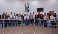 Sessão da Câmara Mirim é realizada pela escola EMEIF Vereador José Molina