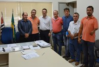 Visita do Deputado Federal Evandro Gussi - PV